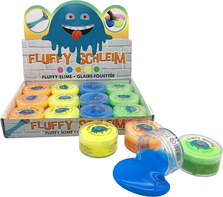 JustRean Toys 1 Dose duftender Fluffy Slime | fluffiger