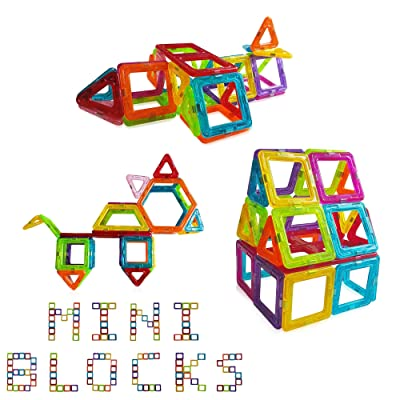 Best 42 Pieces Mini Magnetic Building Blocks For Kids