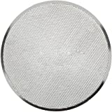 Bandeja de malla de aluminio plana para pizzas, de Woopower; herramienta de cocina para hornear de 15,2-35,5 cm, antiadherente 30,5 cm
