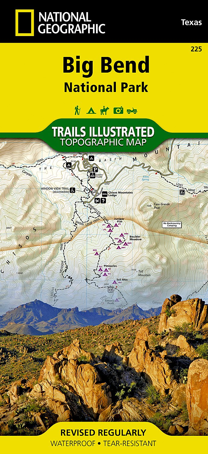 Big Bend National Park (National Geographic Trails Illustrated Map Big Bend National Park Camping Map on colorado bend state park map, refugio camping map, stanislaus national forest camping map, cuyahoga valley national park camping map, tx national parks map, adirondack park camping map, bastrop camping map, cottonwood campground big bend tx map, brownsville camping map, guadalupe river camping map, big bend ranch state park map, west bend map, map cottonwood campground big bend map, lincoln national forest camping map, canaveral national seashore camping map, pinnacles trail big bend map, cedar creek camping map, off-road big bend map, lost maples camping map, palo duro canyon camping map,