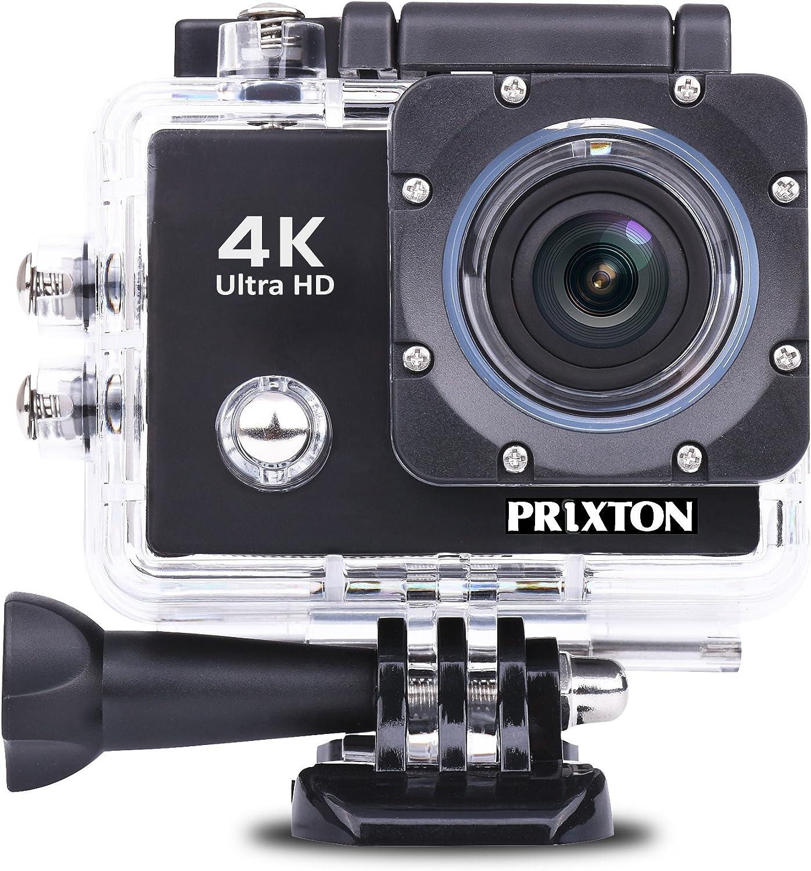 Prixton DV660 - Cámara de acción Sumergible de 8 MP (4K, HDMI ...