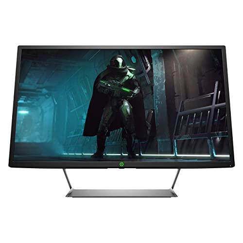 HP Pavilion Gaming Pantalla de juegos 32 QHD 2560 x 1440 a 60 Hz HDR 75Hz AMD FreeSync 600 nits 5 ms negro