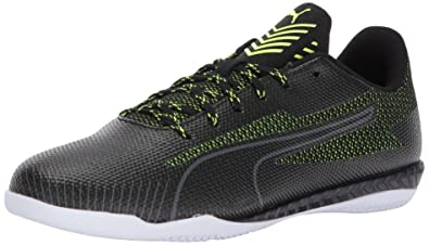 timeless design 83c39 f7ef5 PUMA Men s 365 Ignite CT Soccer Shoe, Black-Safety Yellow White, ...