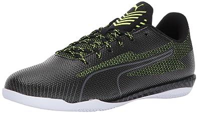 be8591fb2 PUMA Men's 365 Ignite CT Soccer Shoe, Black-Safety Yellow White, ...