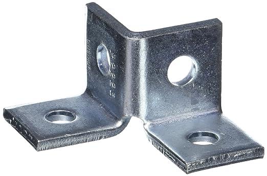 Lot of 50 Unistrut 1-5//8 90 Fitting Electro-Galvanized 2 Hole