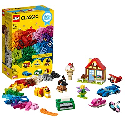 LEGO Classic Creative Fun 11005 Building Kit, New 2020 (900 Pieces): Toys & Games