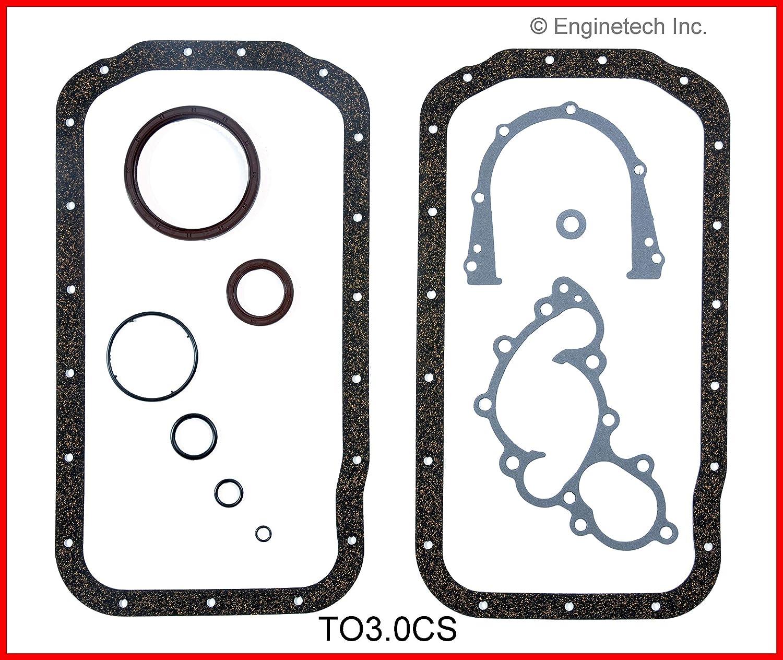 Amazon com: Enginetech TO3 0CS GSKT Toy 3 0L 3VZE: Automotive