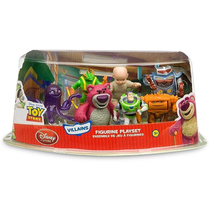 Disney Toy Story 3 Villains Figure Play Set -- 7-pc. (Buzz Lightyear, Lots-o-huggin Bear, Big Baby, Twitch, Chunk, Stretch and Sparks)