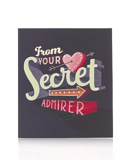 Tarjeta de San Valentín del Almirante Secreto, tarjeta de ...