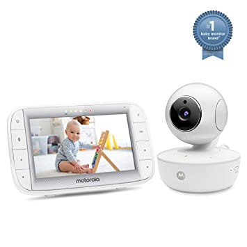 "Motorola 5/"" Portable Video Baby Monitor with Two Cameras MBP36XL-2"