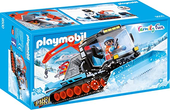 PLAYMOBIL Family Fun Quitanieves, A partir de 4 años (9500 ...
