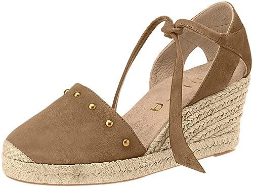 Unisa Cueto_KS, Alpargata para Mujer, Verde (Troop), 39 EU: Amazon.es: Zapatos y complementos