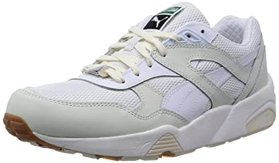 le dernier 802d3 916de Puma R698 White on White 35814201, Basket