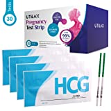 Amazon Price History for:Pregnancy Test Strips One Step Urine Test Kit (HCG) by Utilax -30 Tests - Over 99% Accurate, Easy to Test, Clear Result, Cost Effective