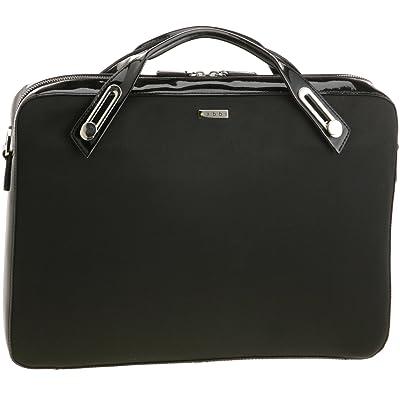 abbi PC bag Michel Satin Briefcase M size Black
