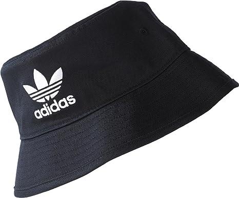 adidas Trefoil plástico Sombrero, Black/White, OSFM: Amazon.es ...