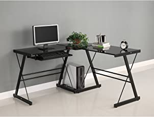 desks for office at home.  For Walker Edison Soreno 3Piece Corner Desk Intended Desks For Office At Home