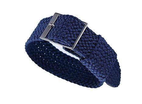 20mm azul de gama alta blandos estilo de la OTAN balísticos correas de reloj  de perlón nylon correas delicadas reemplazos para los hombres relojes de  lujo ... 8879316312a9