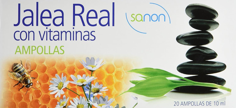 SANON - SANON Jalea Real con Vitaminas 20 ampollas de 10 ml