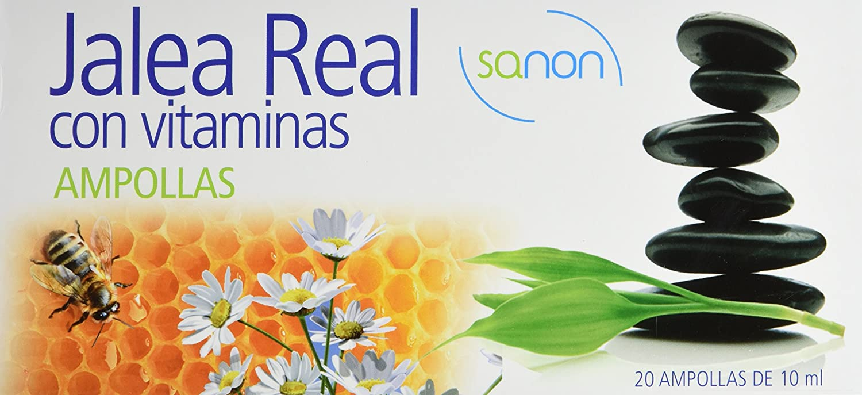 SANON - SANON Jalea Real con Vitaminas 20 ampollas de 10 ml: Amazon.es: Salud y cuidado personal