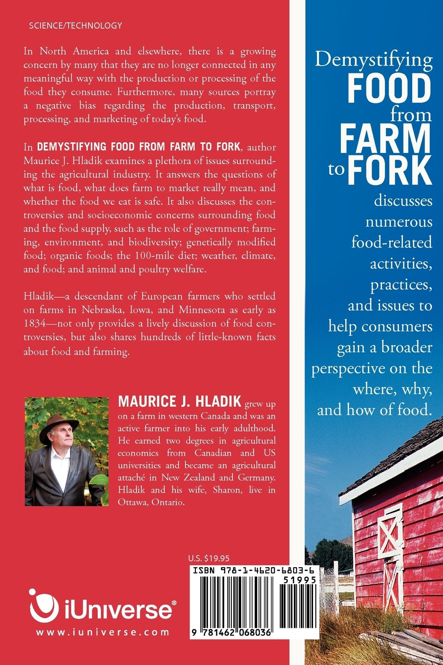 Demystifying Food From Farm to Fork: Maurice J  Hladik