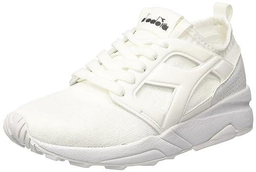 Diadora Evo Aeon Weave, Sneaker Uomo, Bianco (Bianco Bianco), 40 EU