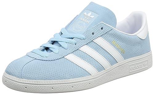 adidas Munchen, Zapatillas de Deporte para Hombre, Azul (AzuhieFtwblaDormet), 43 13 EU