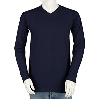 1c6101c6487a Styllion Big and Tall V Neck Shirts for Men - Long Sleeve - Heavy Weight at  Amazon Men's Clothing store: