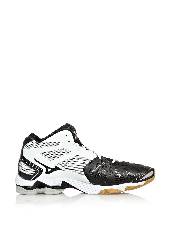 Mizuno Sneakers Indoor Wave Lightning RX2 Mid Bianco/Nero EU 50 (UK 14)