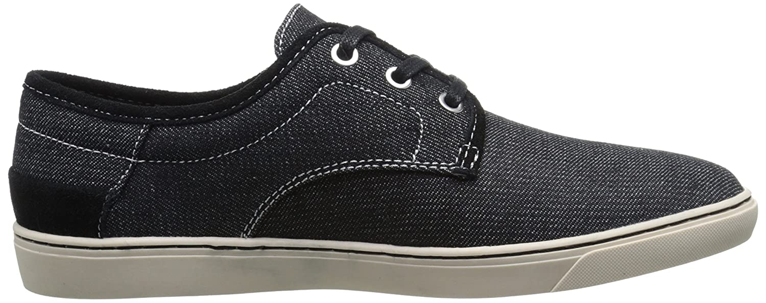 Amazon.com | CK Jeans Mens Zander Denim, Black, 7 M US | Fashion Sneakers