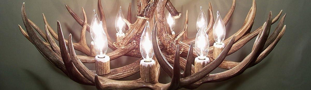 amazon com the antler chandelier handmade