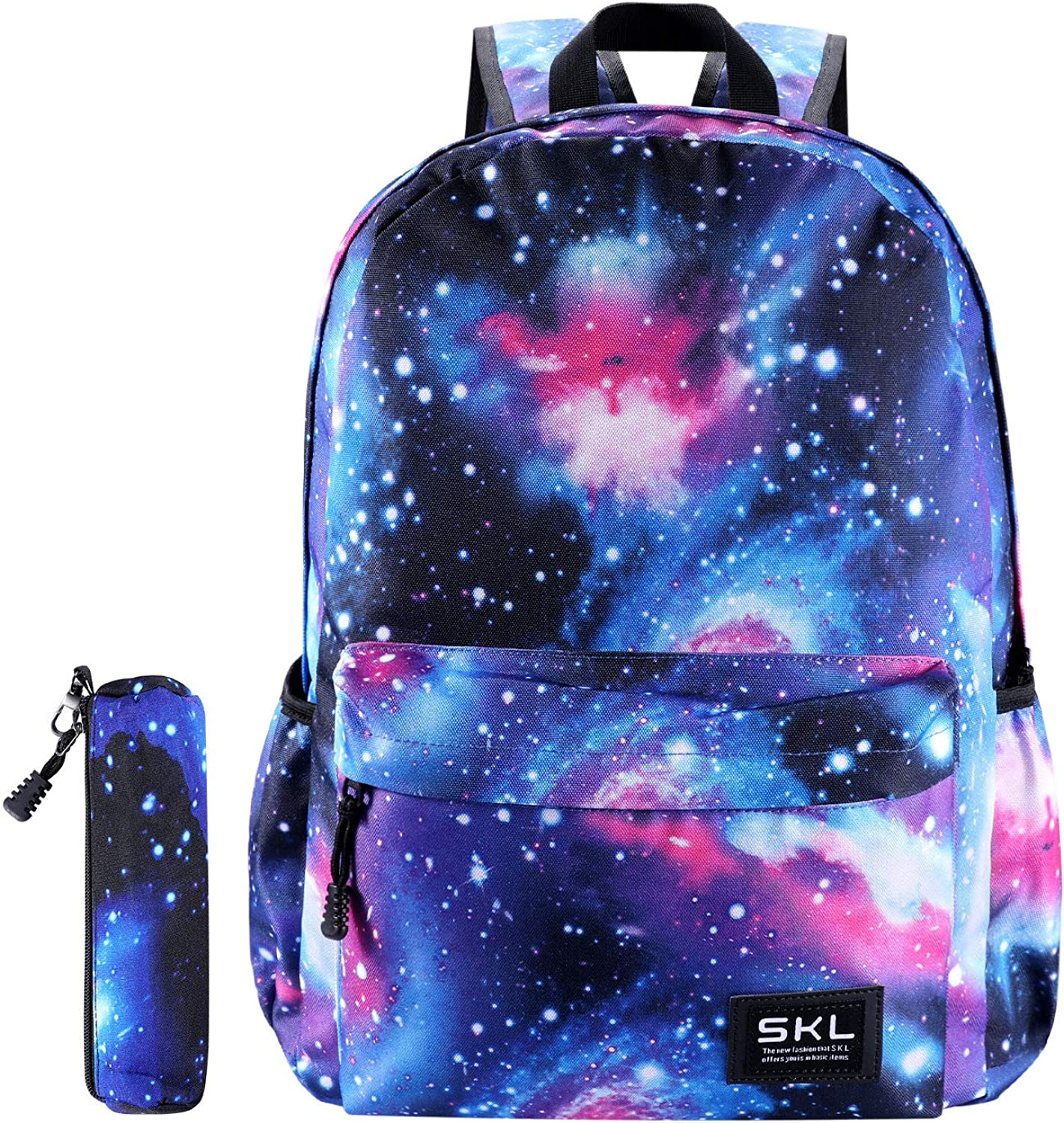 Galaxy School Backpack Bookbag Casual Daypack Travel Laptop Backpack for Girls Women Teenagers
