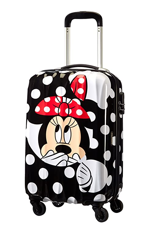 American Tourister - Disney Legends Spinner Maletas y Trolleys, S (55 cm -32 litros), (Minnie Dots)