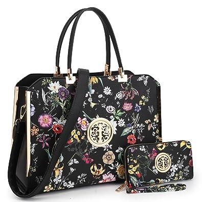 MMK Women s Designer HandbagsTote Bag Satchel Fashion Shoulder Bags Top  Handle Tote Purse 6900W-BKF 507cad07e8815