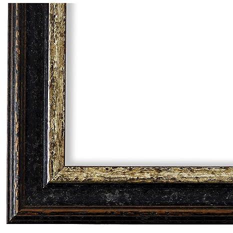 Online Galerie Bingold Bilderrahmen Schwarz Silber 60x80 60 X 80 Cm Antik Barock Vintage Alle Größen Handgefertigt In Deutschland Wrf