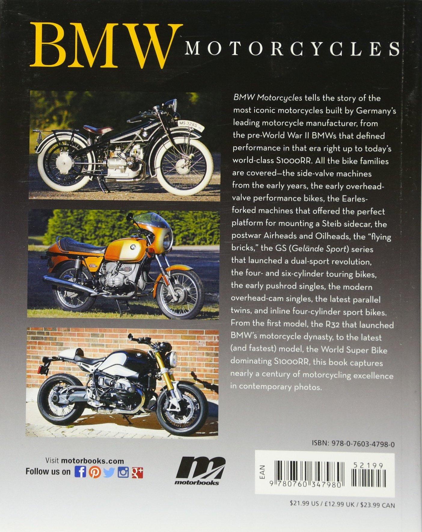 BMW Motorcycles (First Gear): Doug Mitchel: 9780760347980: Amazon.com: Books