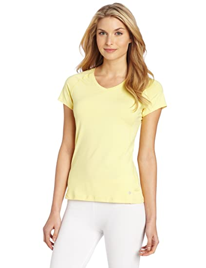 ff1c45b31ae Amazon.com: Columbia Total Zero Short Sleeve V-Neck Top, Sunlit ...
