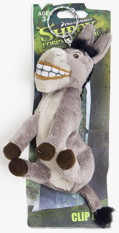 Shrek 200737 - Llavero de peluche de burro (12 cm)