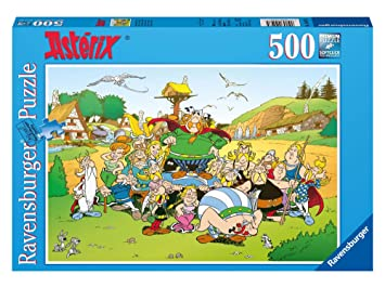 Ravensburger Classic 14197 Jigsaw Puzzle – 500 Pieces – Asterix in the  village
