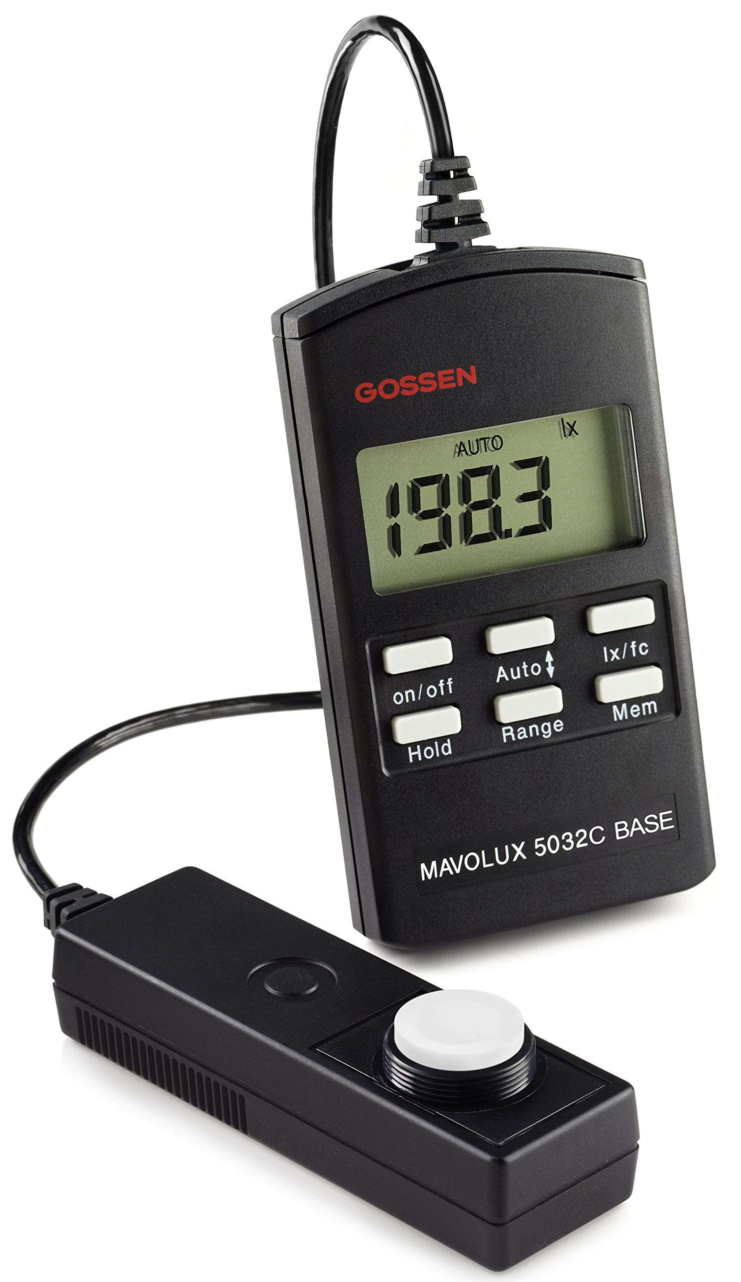 Gossen M502B Mavolux 5032C Digital Footcandle and Lux Meter