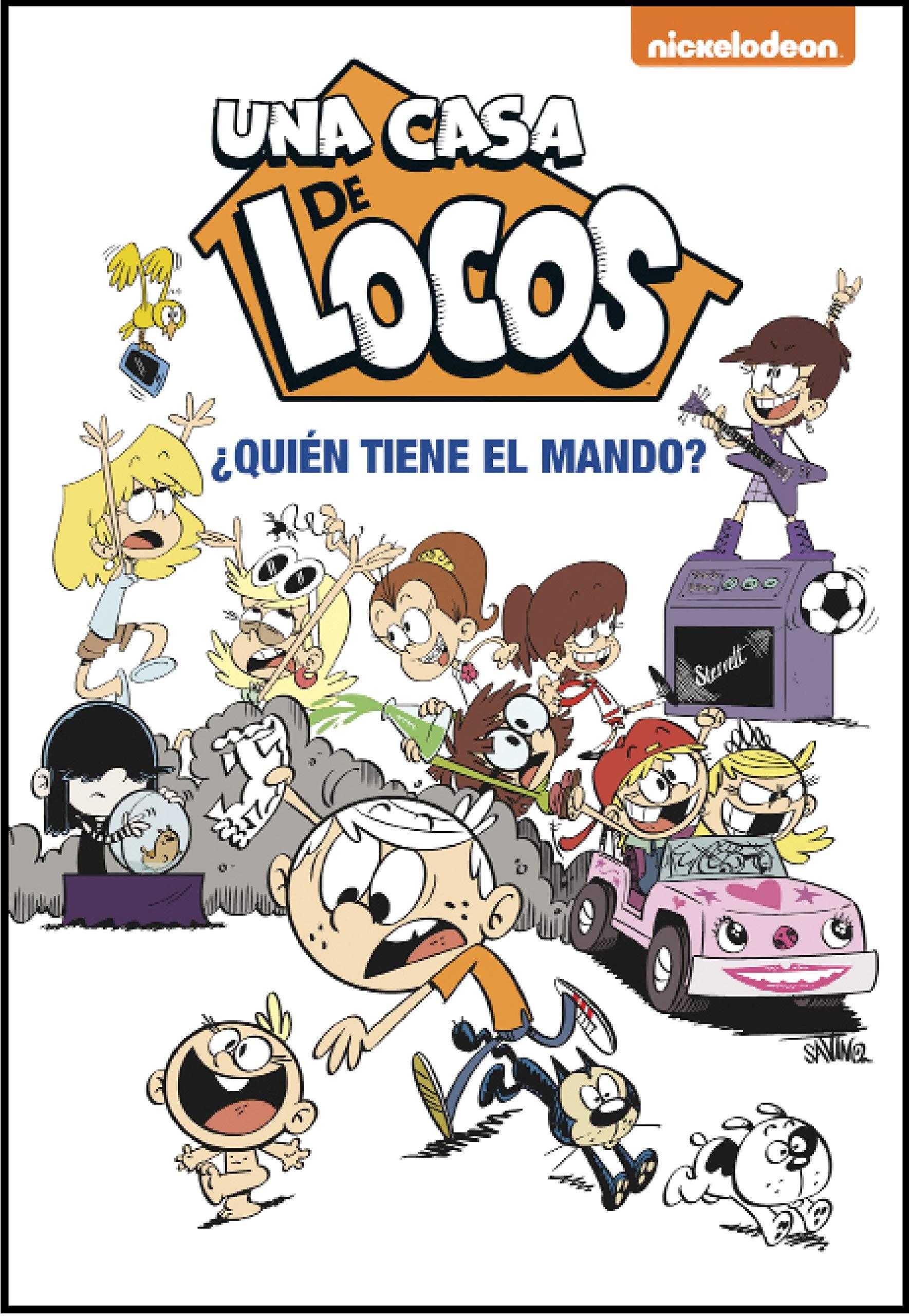 Quién tiene el mando? (Una casa de locos. Cómic): Amazon.es: Nickelodeon: Libros