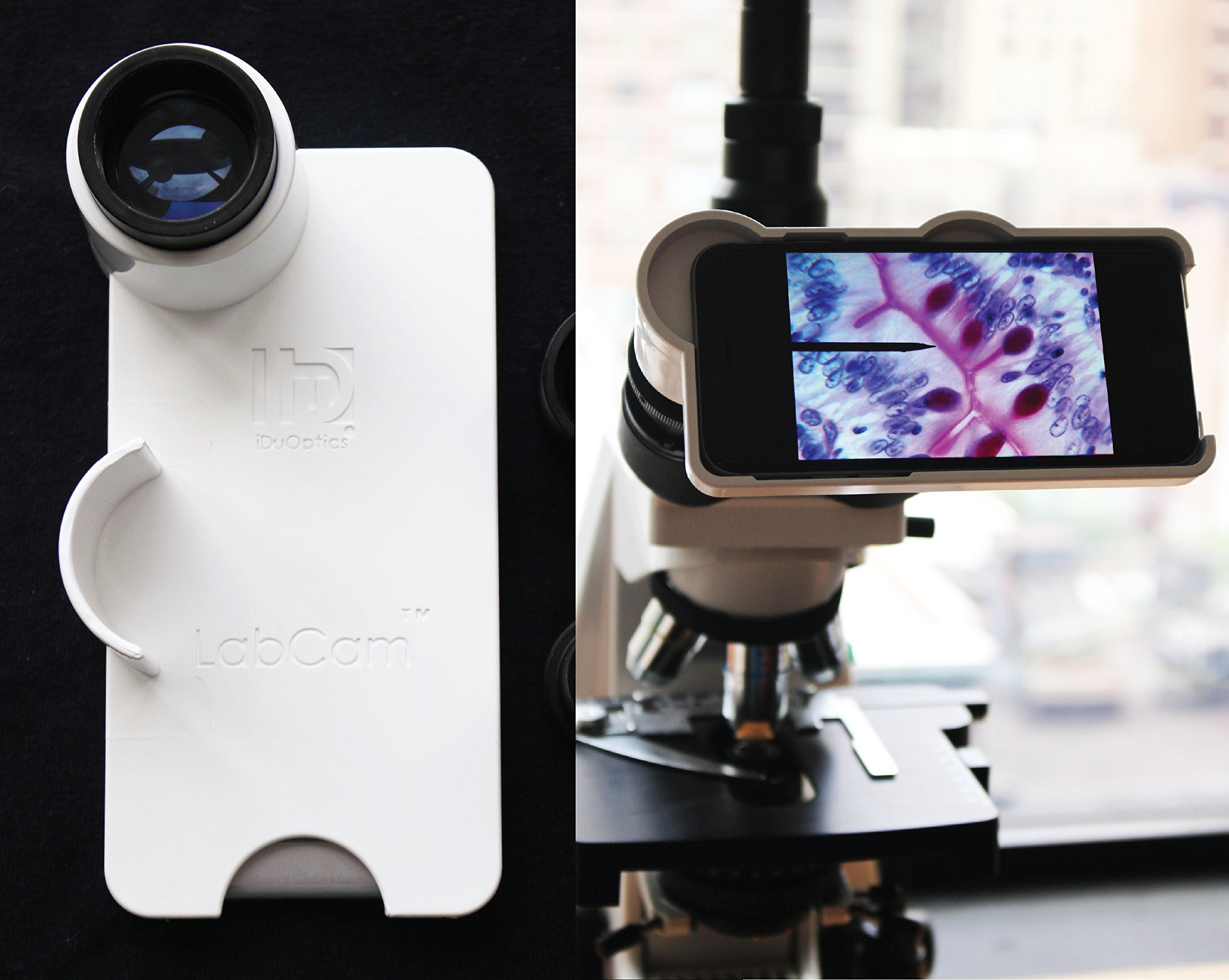 LabCam Microscope/Telescope Adapter for iPhone X by iDu Optics