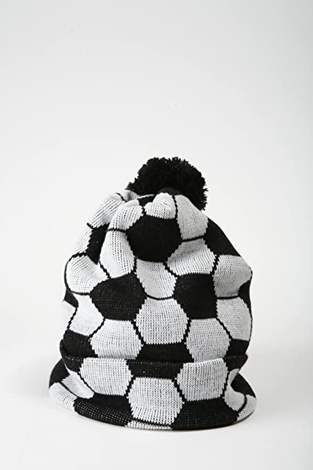 Amazon.com : Soccer Ball Winter Hat : Cold Weather Hats : Sports ...