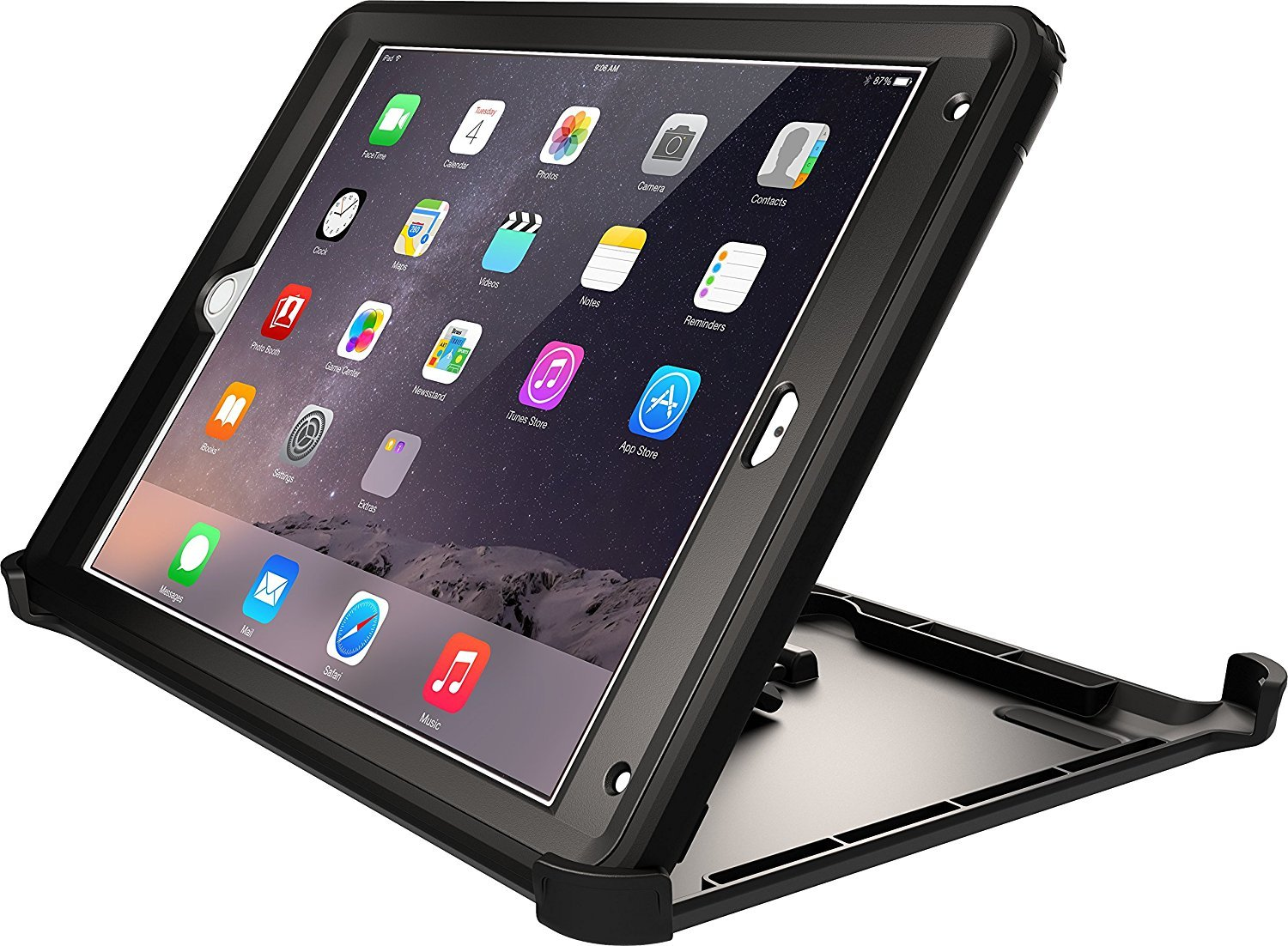 info for ecbe4 91501 OtterBox Defender Series Replacement Stand ONLY for Apple iPad Air 2 -  Black (New, Non-Retail Packaging)