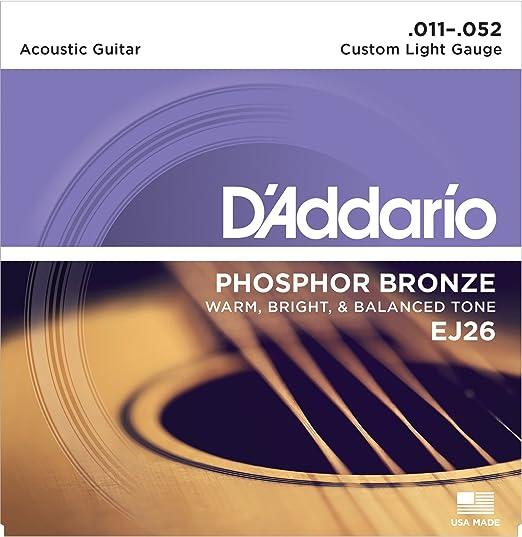 164 opinioni per D'Addario EJ26 Set Corde Acustica EJ Phosphor BRZ RND WND
