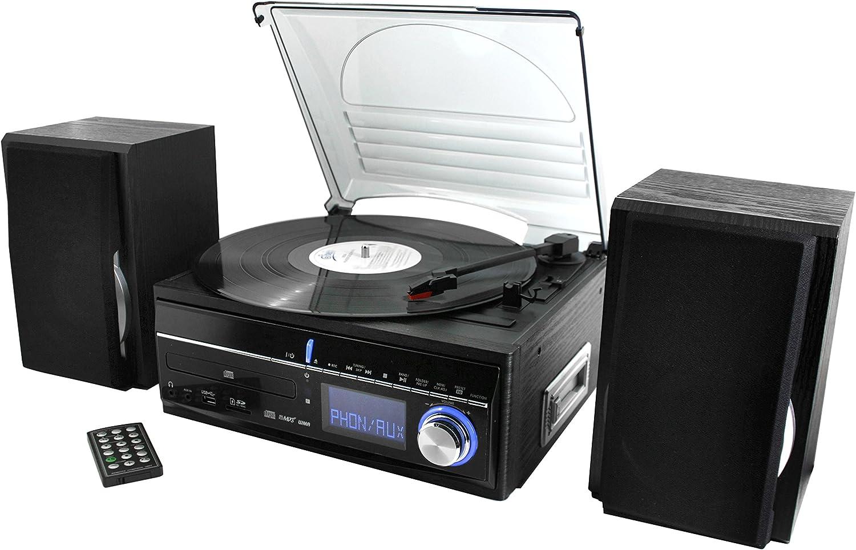 Soundmaster MCD1700 sistema de audio doméstico: Amazon.es: Electrónica