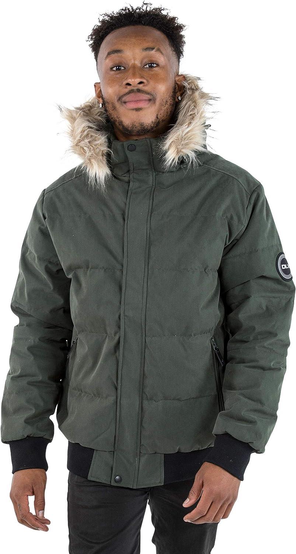 Trespass Heddar Chaqueta de invierno acolchada y c/álida con capucha desmontable Unisex ni/ños