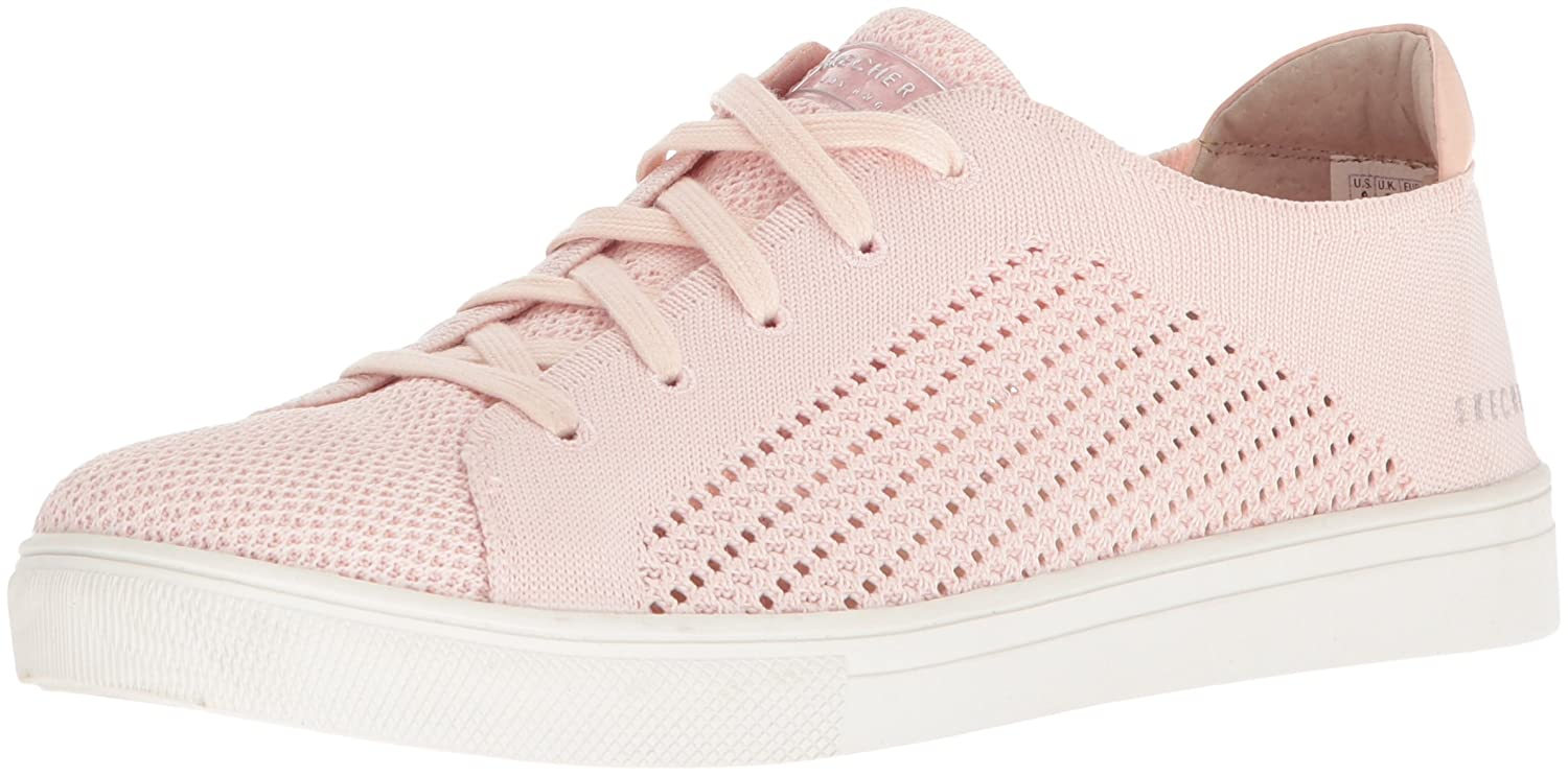 Skechers Women's Moda-Great Knit Sneaker B07821G9QR 8.5 B(M) US|Light Pink