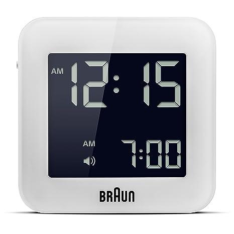 Braun BNC-008-WH Reloj, Blanco