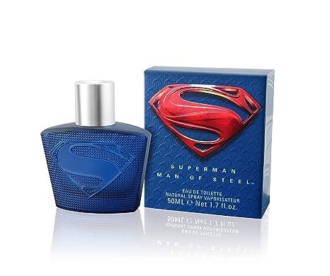 SUPERMAN de acero de logotipo de El Hombre de Colonia de imitación Natural Toilette de aerosol